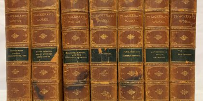 Oakwood Auction, Rare Antique Book Collections