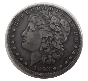 United States (US) - 1893-S Silver Dollar